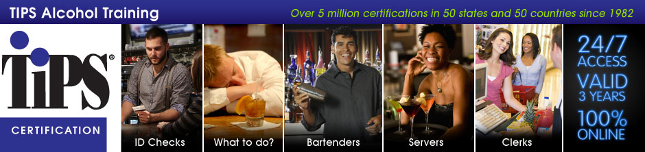 tips alcohol certification online | etips | tipsalcohol.com